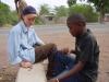 Op safari met kinderen: spelletje met de assistent