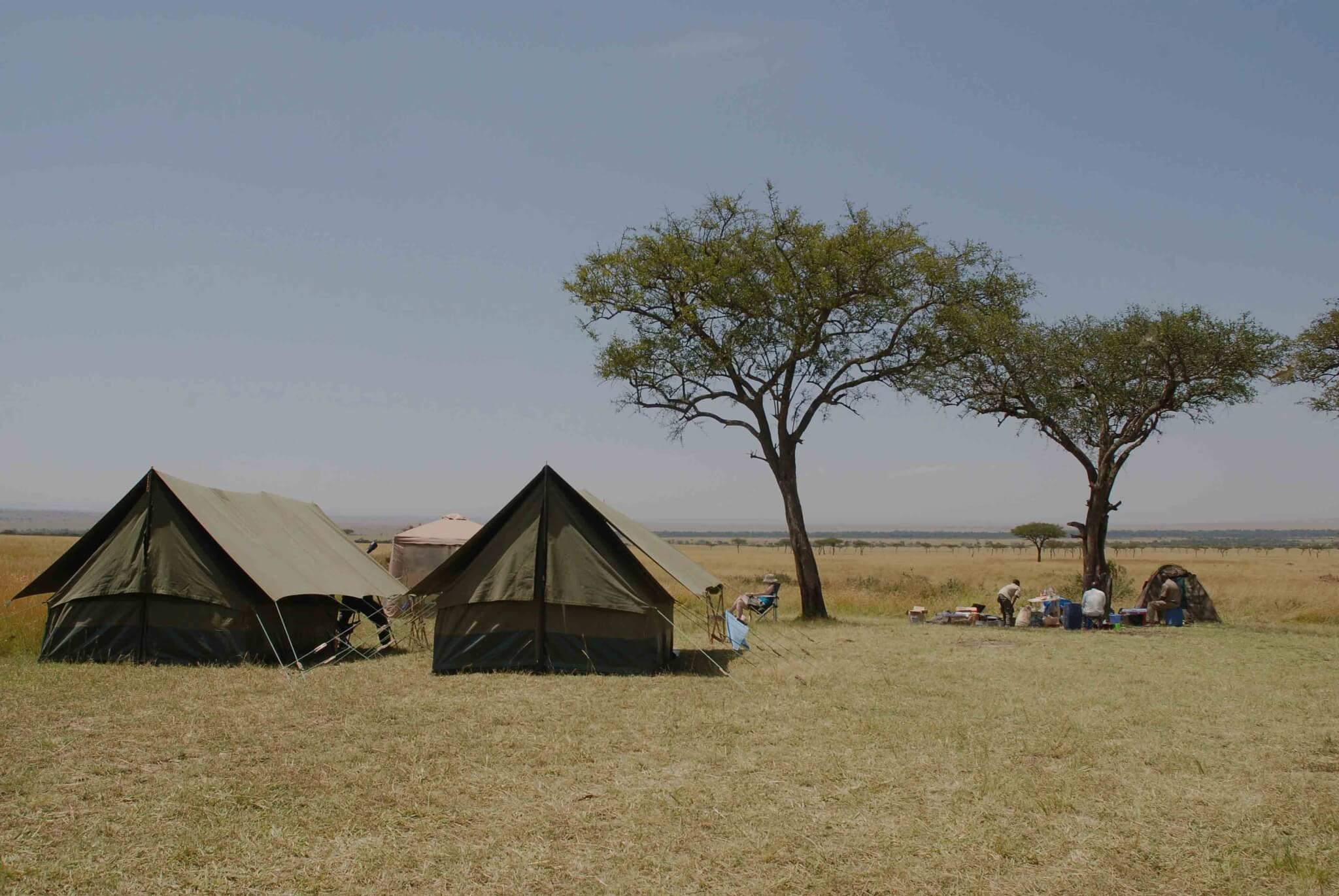 Campsites in deTanzaniaanse parken midden in de bush | Prive Safari