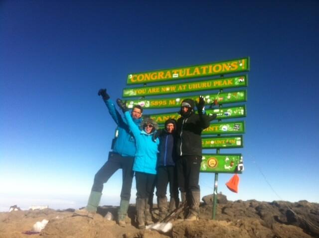 Ader Op de Top van Kilimanjaro