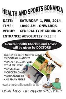 Bonanza in Arusha 1 februari