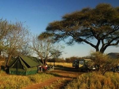 een tent safari in Tanzania