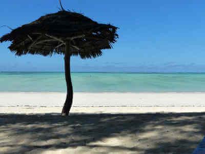 Tanzania stranden op Zanzibar